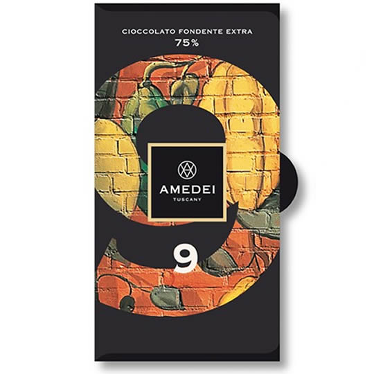 Amedei Chocolate - '9' 75% Cocoa Dark Chocolate Bar