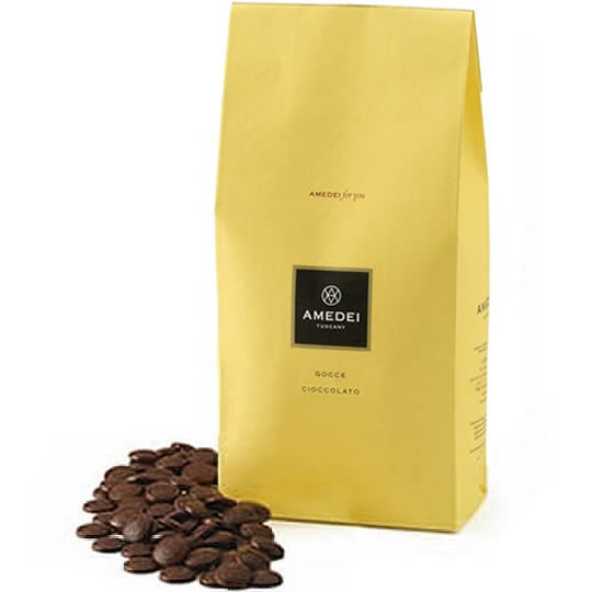 Amedei for you Gocce Cioccolato 70% Cocoa Dark Chocolate Drops 2kg