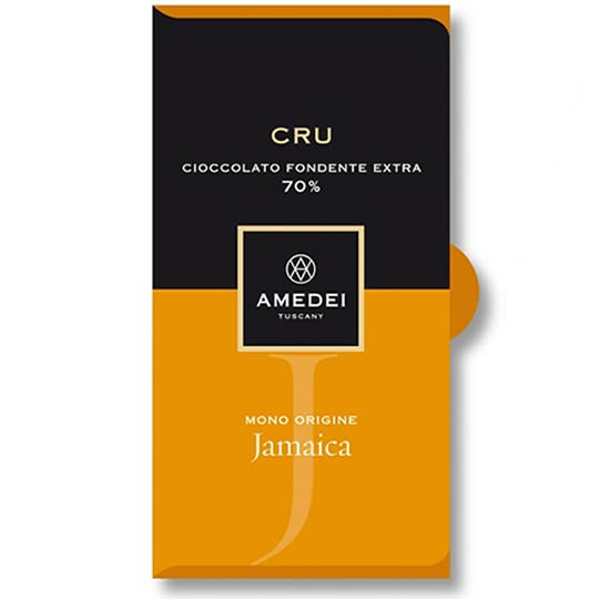 Amedei Jamaica 70% Cocoa Dark Chocolate Bar