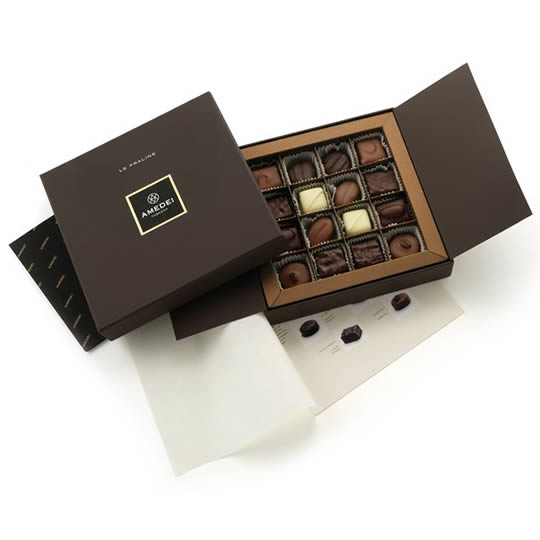 Amedei Le Praline 16 Chocolate Box