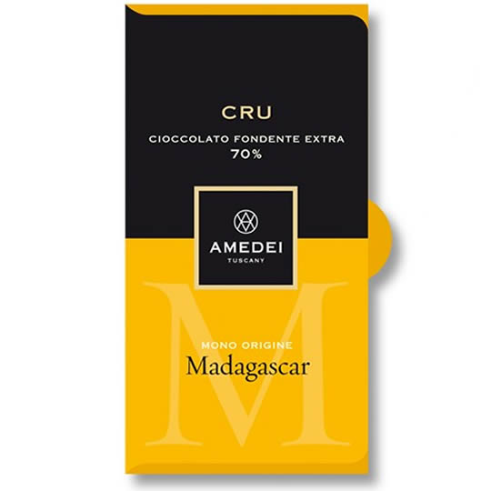 Amedei Chocolate Madagascar Cru 70% Dark Chocolate Bar