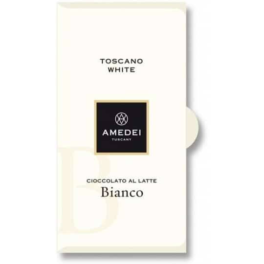 Amedei Toscano White Chocolate Bar