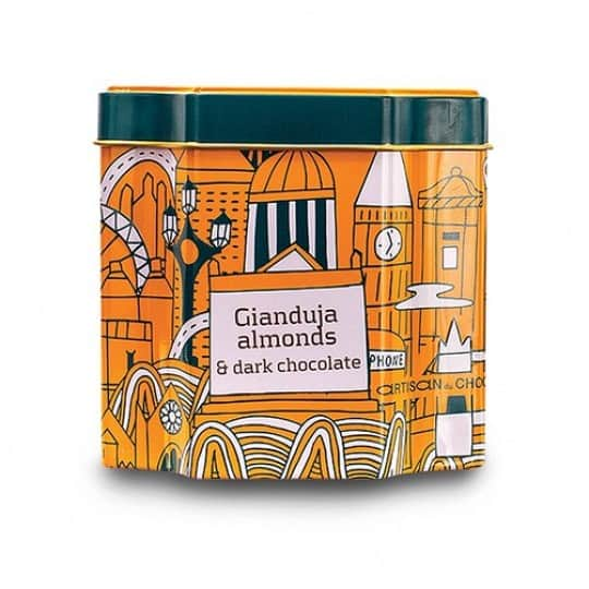 Artisan Du Chocolat Gianduja Almonds & Dark Chocolate