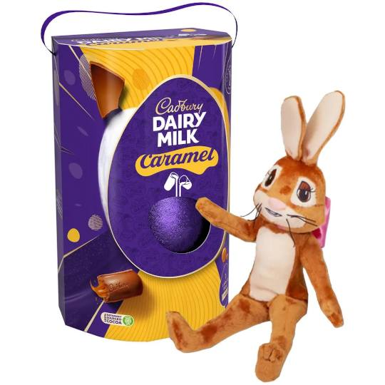 Cadbury Caramel Easter Egg & Bunnies