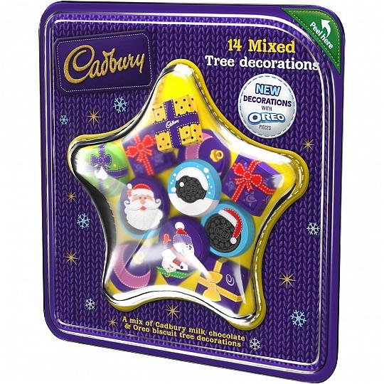 Cadbury Chocolate Christmas Tree Decorations