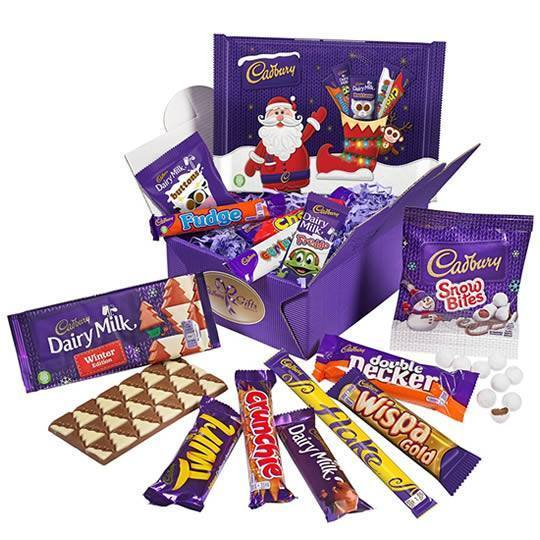 Cadbury Christmas Chocolate Treasure Box