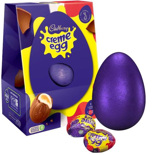 Cadbury Chocolate Cadbury Large Creme Egg Easter Egg