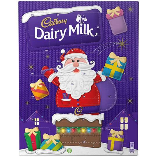 Cadbury Dairy Milk Chocolate Advent Calendar