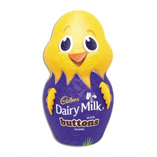 Cadbury Dairy Milk Easter Chick with Cadbury Buttons