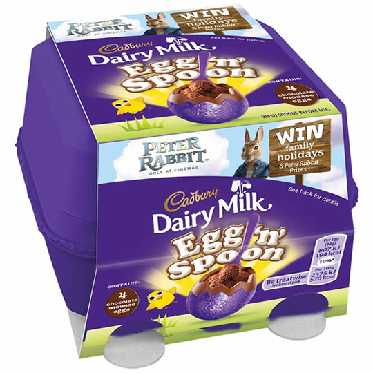 Cadbury Egg 'n' Spoon Double Choc