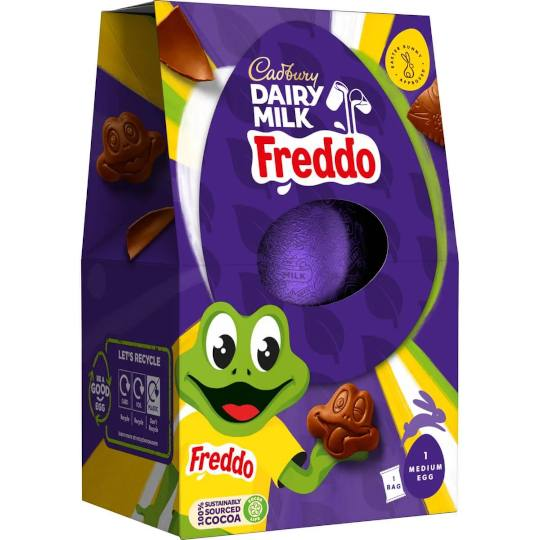 Cadbury Freddo Faces Easter Egg