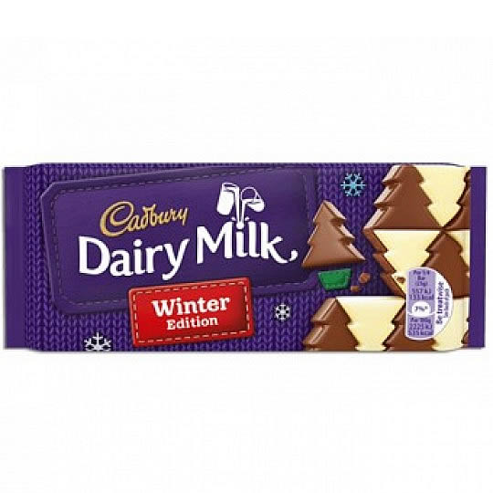 Cadbury Dairy Milk Winter Wonderland Chocolate Bar