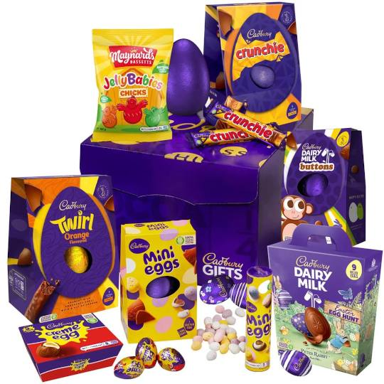 Cadbury Large Easter Egg Collection