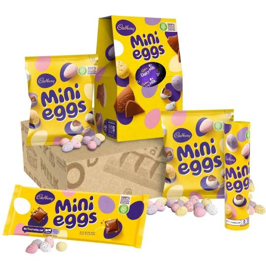 Cadbury Mini Eggs Easter Gift Set