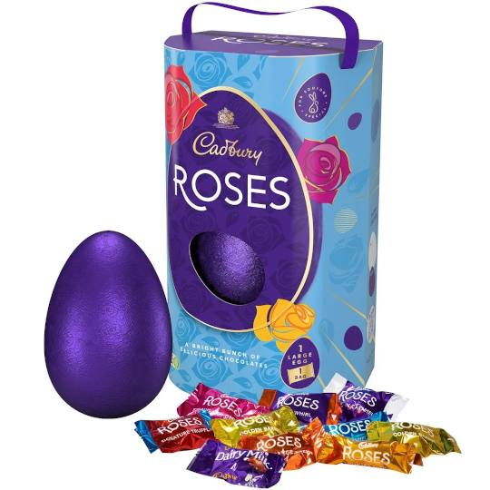 Cadbury Chocolate Roses Special Easter Egg