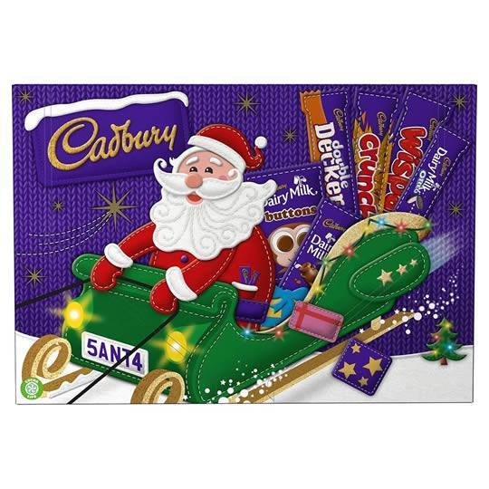 Cadbury Santa Chocolate Selection Box