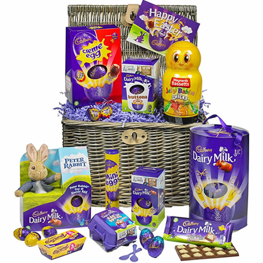 Cadbury The Easter Bunny Easter Chocolate Hamper