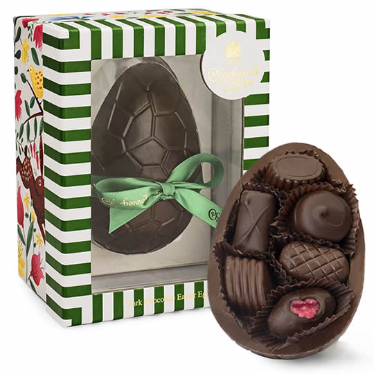 Charbonnel et Walker Dark Chocolate Easter Egg
