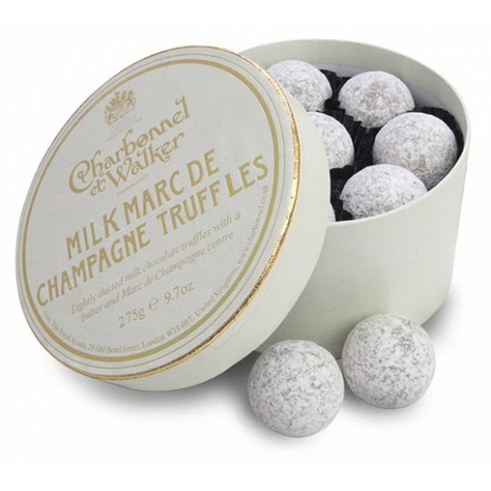 Charbonnel et Walker Milk Marc de Champagne Chocolate Truffles 275g
