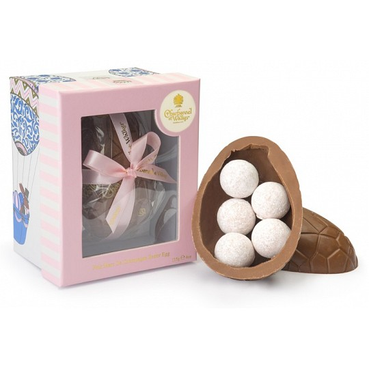 Charbonnel et Walker Pink Champagne Chocolate Truffle Easter Egg