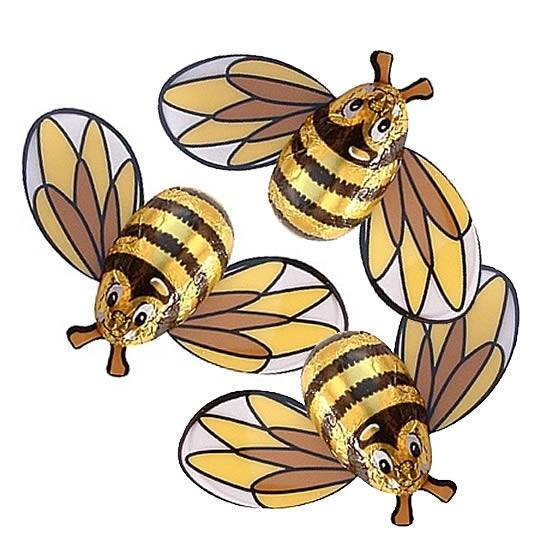 Chocolate Trading Co. Bag of 10 Milk Chocolate Bees