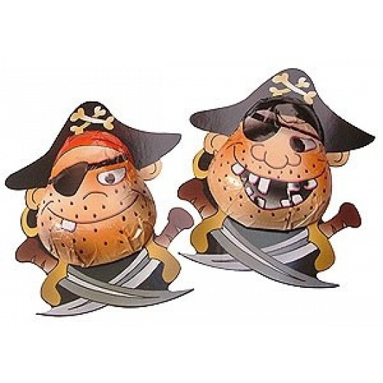20 Novelty Chocolate Pirates