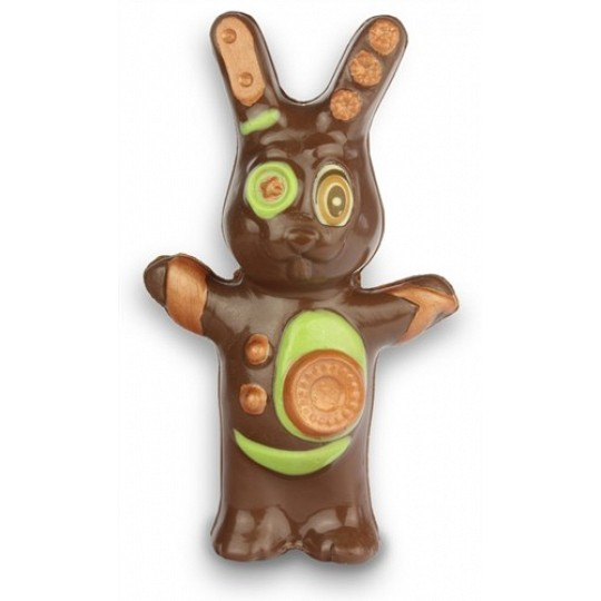 Chocolate Trading Co. Funky Boy Chocolate Easter Bunny