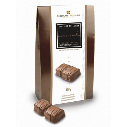 Chocolate Trading Co. Superior Selection, Salted Butter Chocolate Caramels