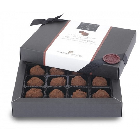 Chocolate Trading Co. Superior Selection 12 Dark & Dusted French Truffles 138g