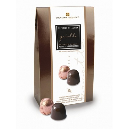 Chocolate Trading Co. - Superior Selection, Morello Cherries in Kirsch Bag