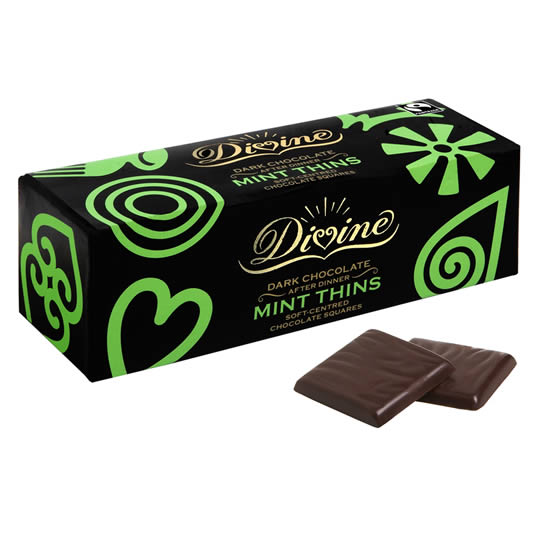 Divine Chocolate After Dinner Mint Thins
