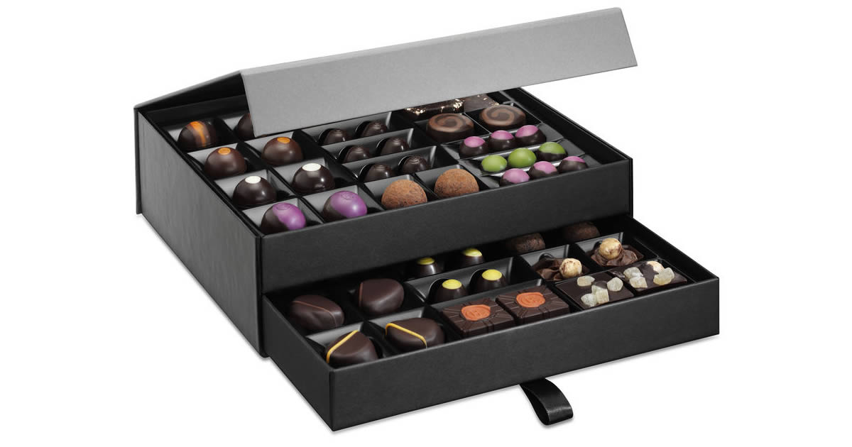 Luxury Chocolate Box | Chocolate packaging design, Hotel ... |Luxury Chocolate Box