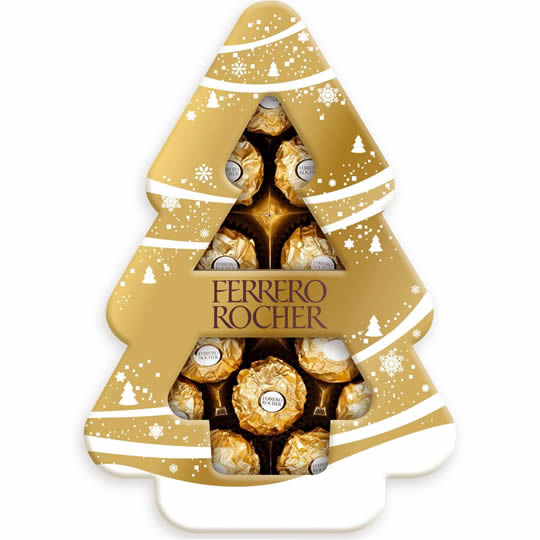 Ferrero Rocher Chocolate Christmas Tree