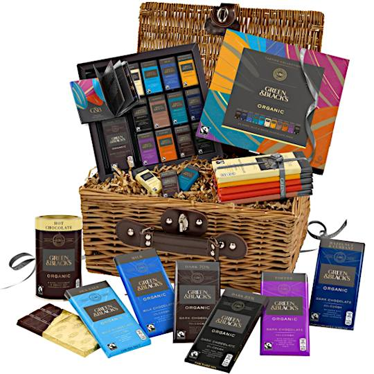 Green & Blacks Chocolate Gift Hamper