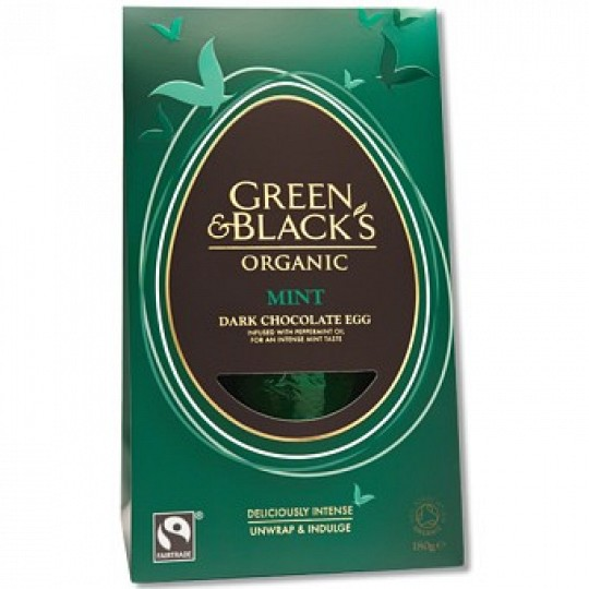 Green & Blacks Mint Easter Egg