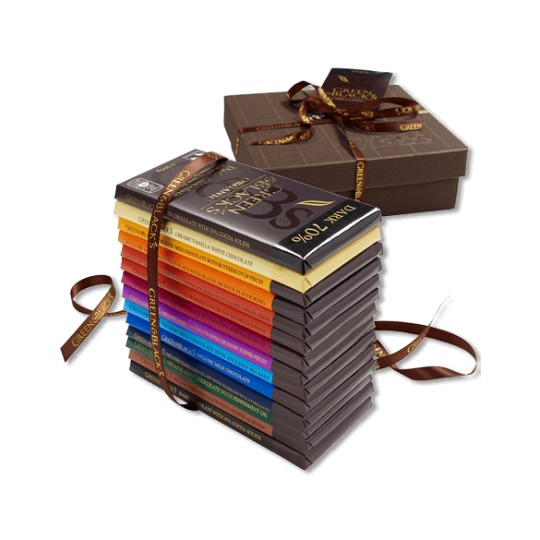 Green & Black's The Ultimate Chocolate Bar Gift Set
