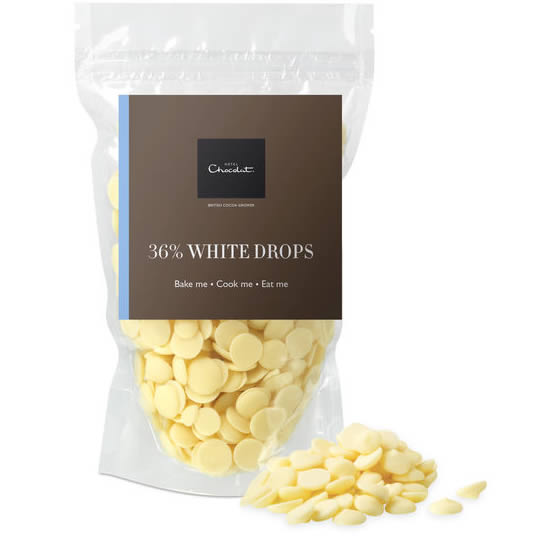 Hotel Chocolat White Chocolate Drops