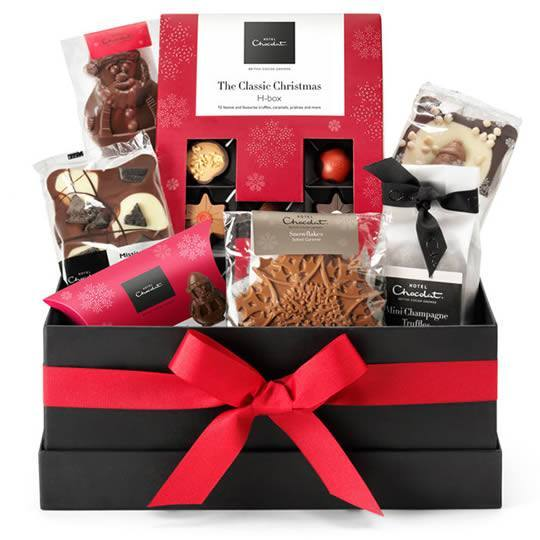 "Hotel Chocolat ""All I Want for Christmas"" Chocolate Hamper"
