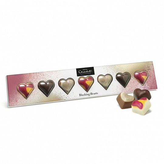 Hotel Chocolat Blushing Hearts Chocolate Truffles