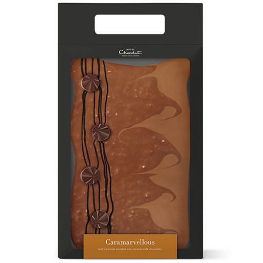 Hotel Chocolat White & Caramel Cookies Giant Chocolate Slab