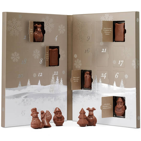 Hotel Chocolat Caramel Chocolate Advent Calendar