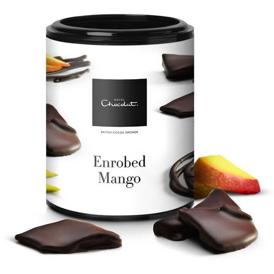 Hotel Chocolat Chocolate Covered Mango Strips