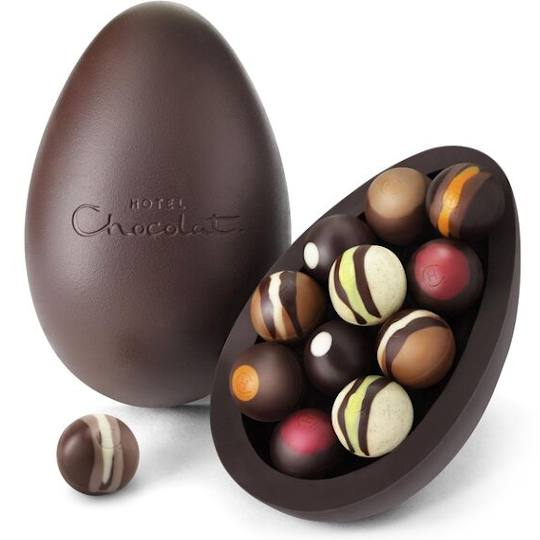 Hotel Chocolat Chocolate Liqueurs Extra Thick Easter Egg