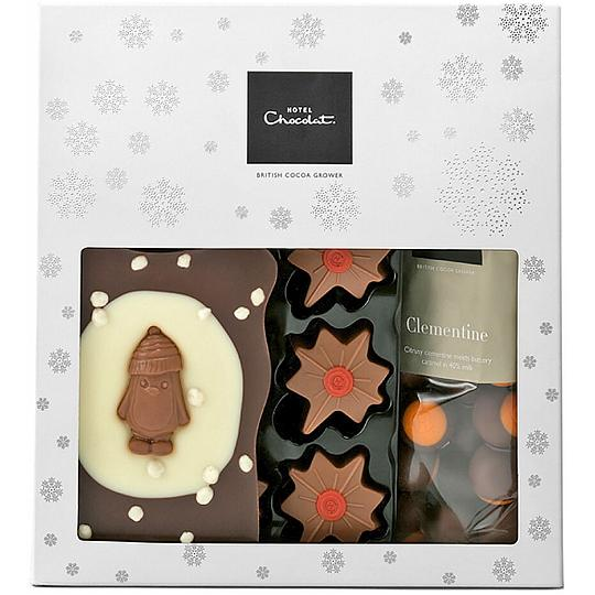 Hotel Chocolat Christmas Chocolate Gift Bag