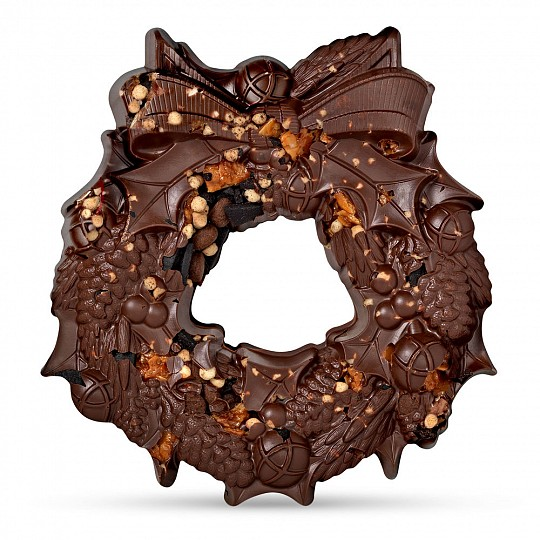 Hotel Chocolat Christmas Chocolate Wreath