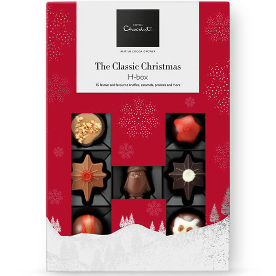 Hotel Chocolat Christmas H-Box Chocolate Box