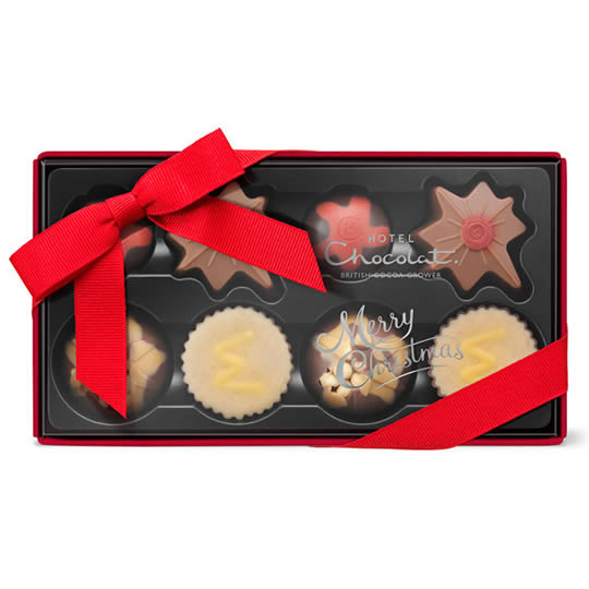 Hotel Chocolat Pocket Christmas Chocolate Box