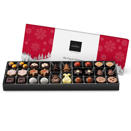 Hotel Chocolat Christmas Chocolate Box