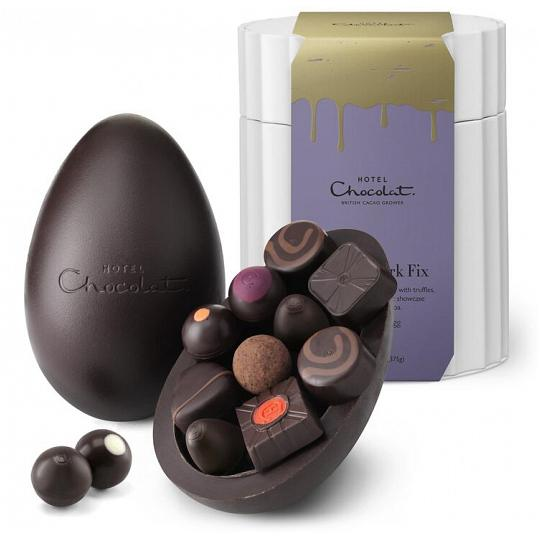 Hotel Chocolat Dark Chocolate Extra Thick Easter Egg