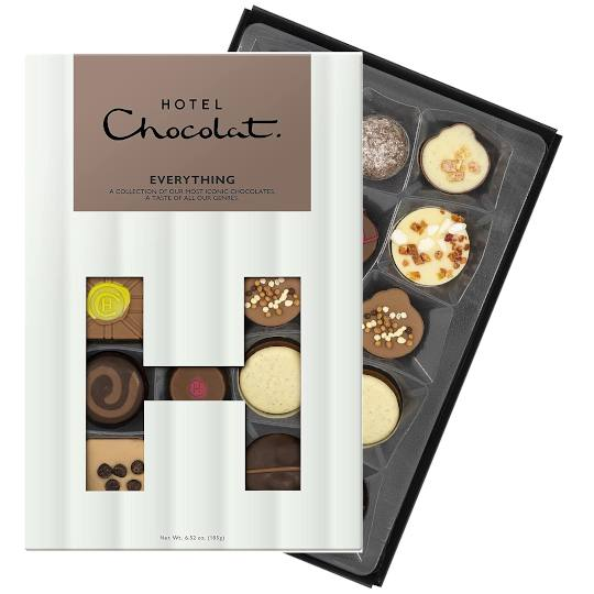 Hotel Chocolat Everything Selection Chocolate Box H-Box